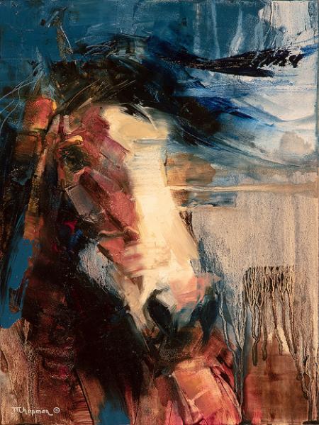 Bronc Portrait - Julie T. Chapman