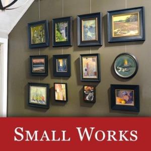 Small works icon featuring Karen Hewitt Hagan