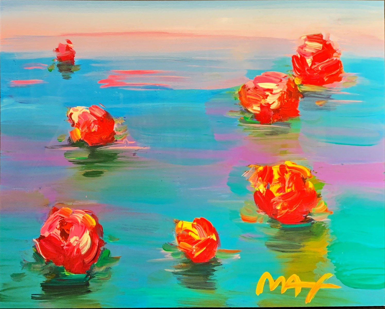 Homage to Monet: Water Lilies