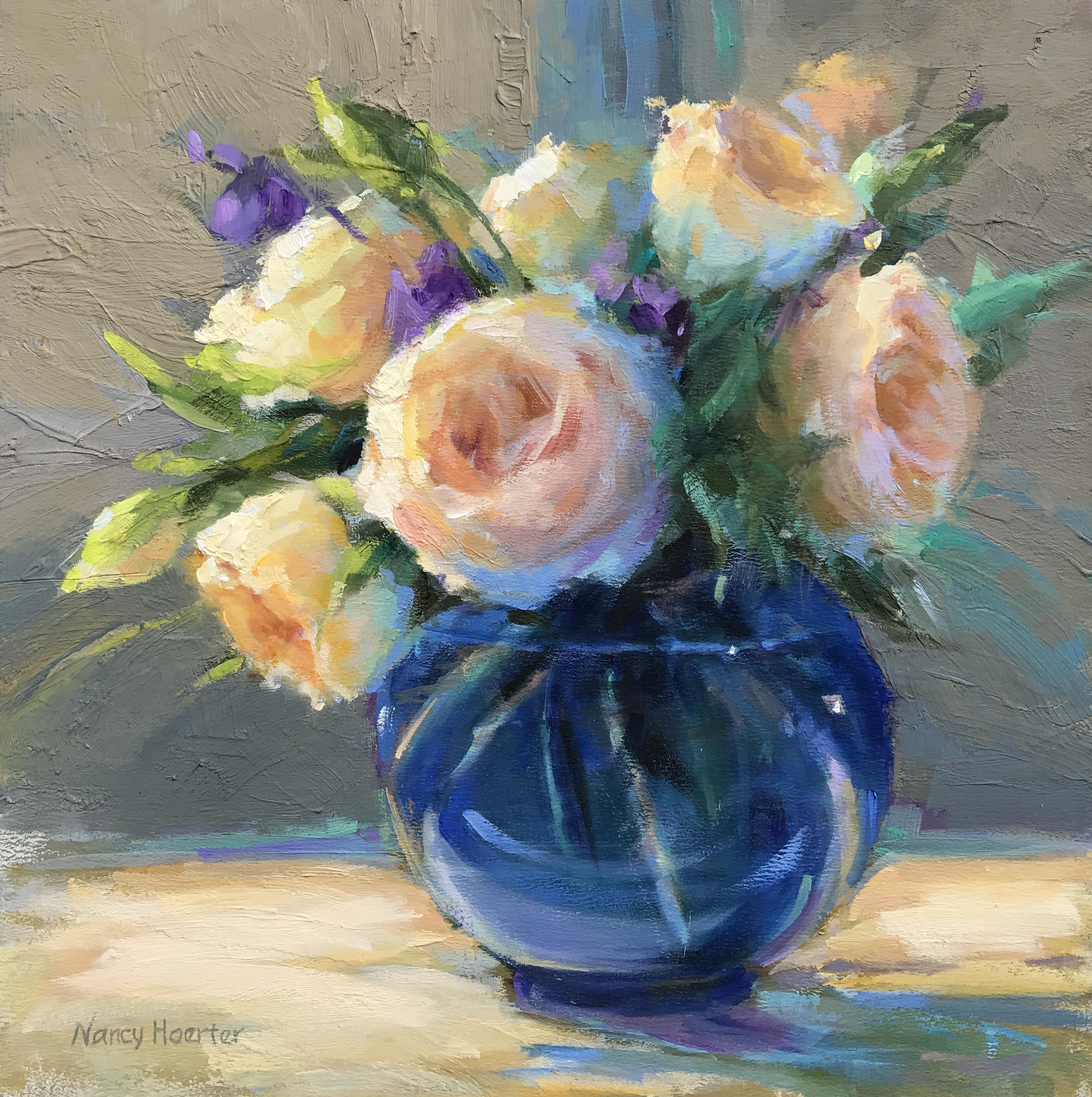 Her Favorite Blue Vase