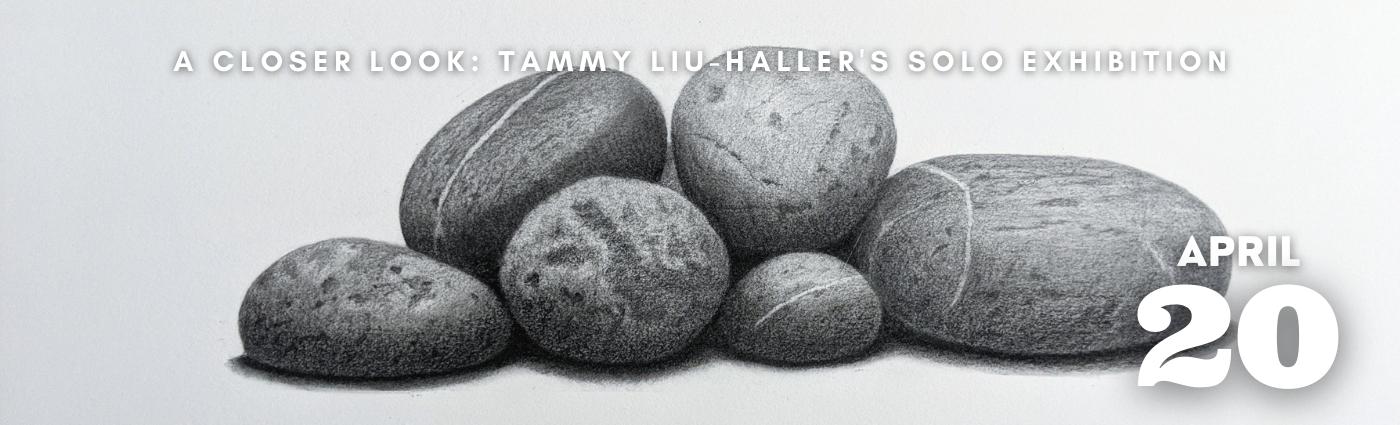 A Closer Look: Tammy Liu-haller's Solo Exhibition promo banner