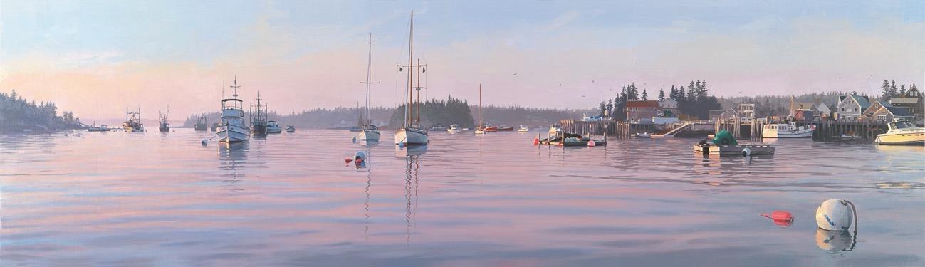 Evening in Port Clyde