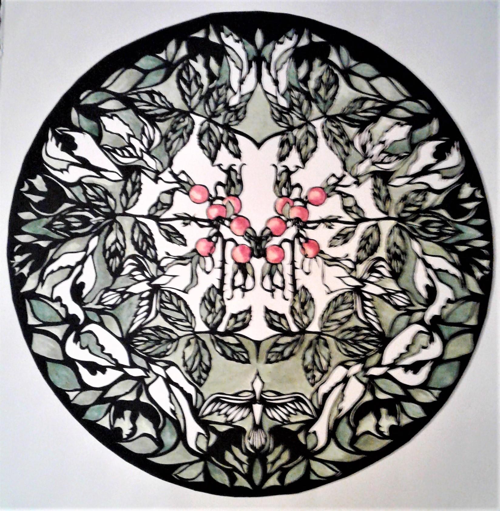 Rosehip Mandala