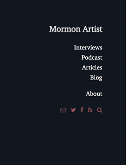 Mormon Artist - Jenna von Benedikt