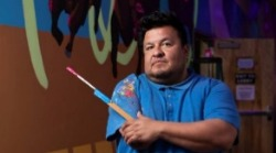 Frank Buffalo Hyde Reveals New Mural at Meow Wolf