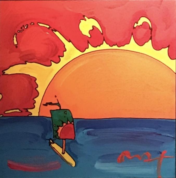 Retro: Sunset Sail