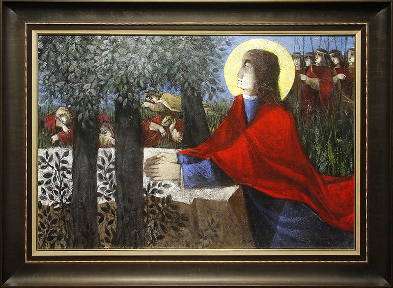 Jesus Orando Monte Olivos (Jesus Praying on the Mount of Olives)