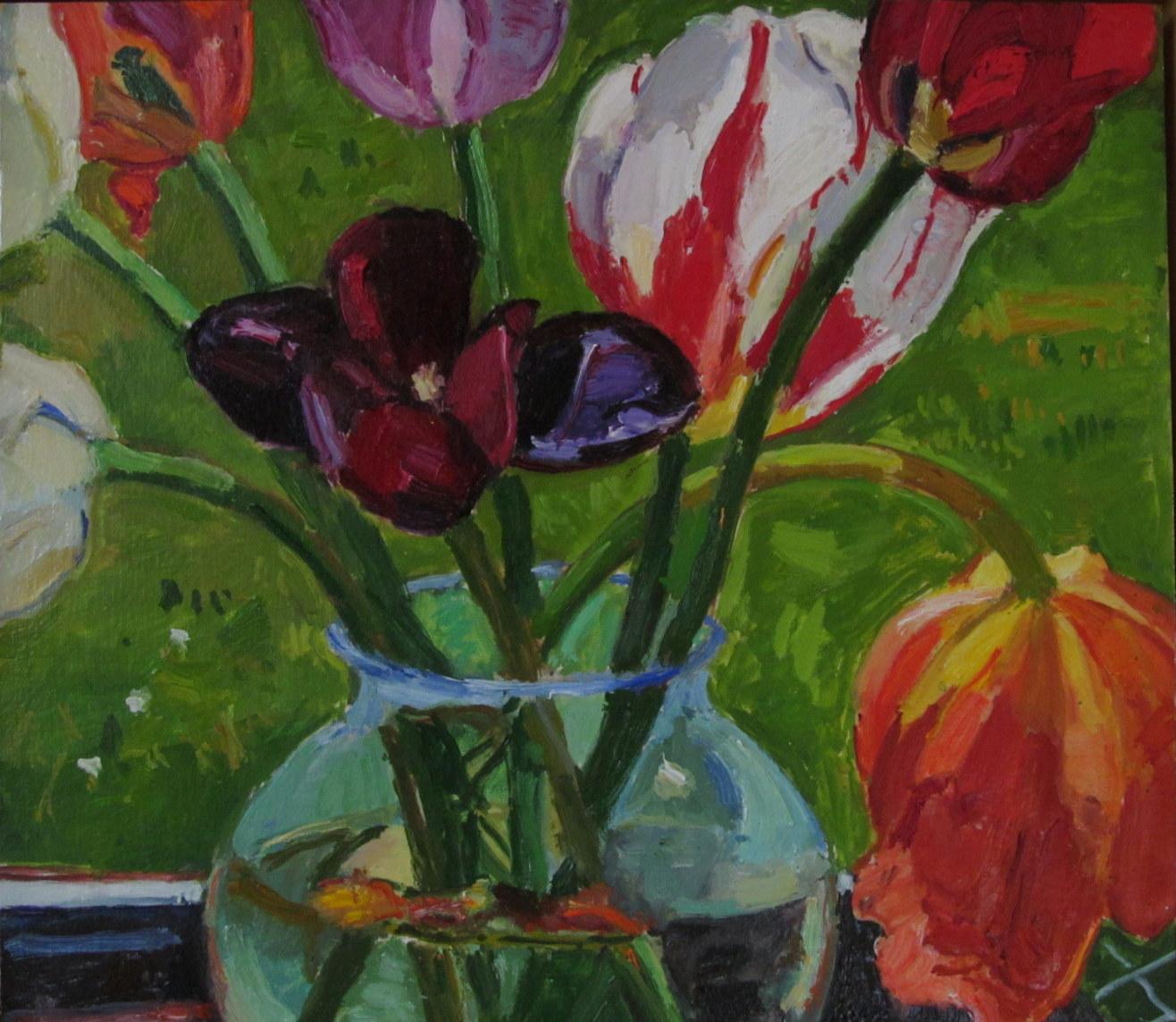 Tulips, 2014