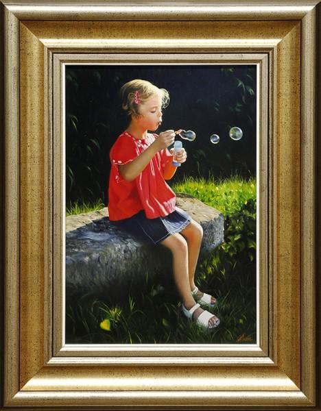 Soplando Burbujas (Blowing Bubbles)