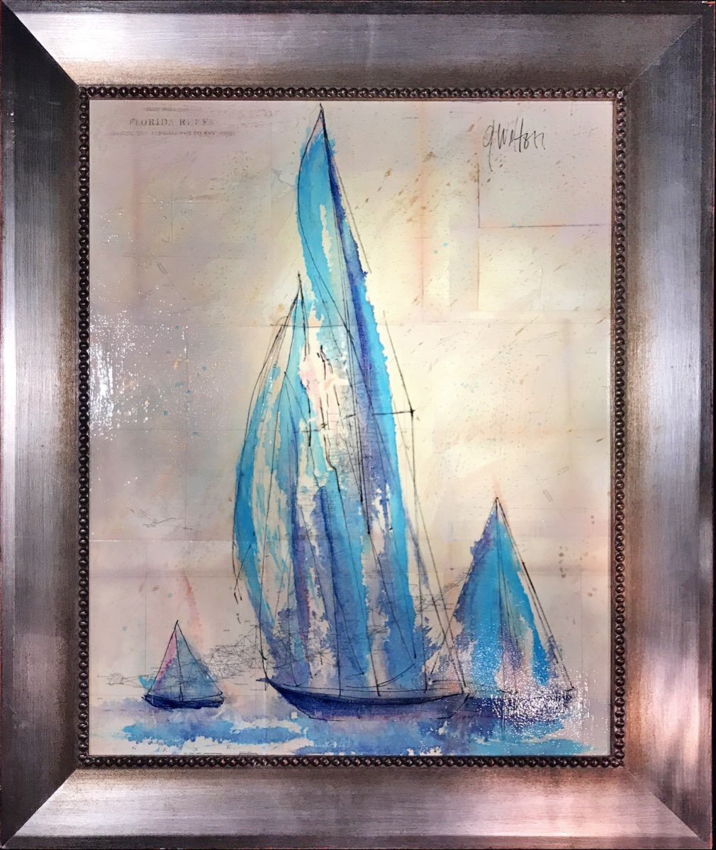 Sailboats Florida Chart II