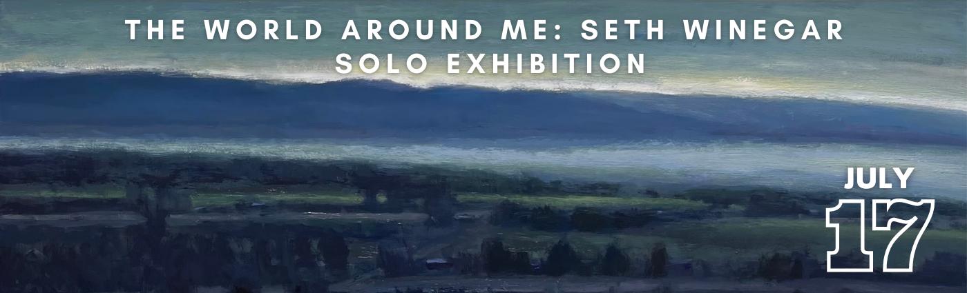 Seth Winegar Solo Exhibition Promo Image