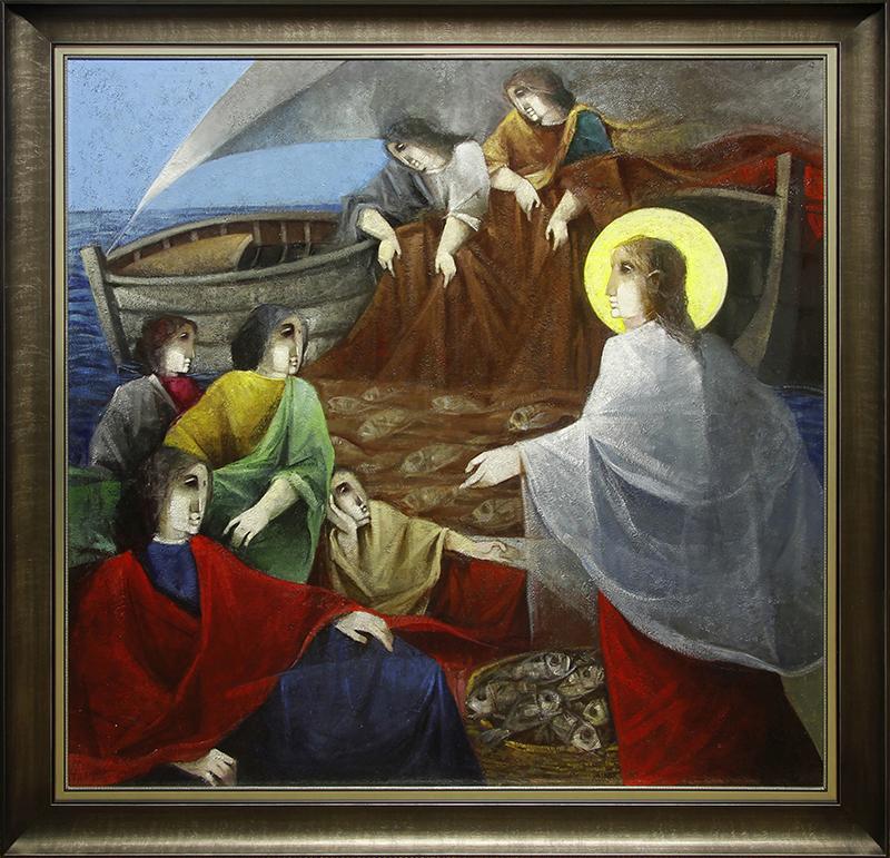 Jesus y Los Pescadores (Jesus Calls the Fishermen to be Disciples)