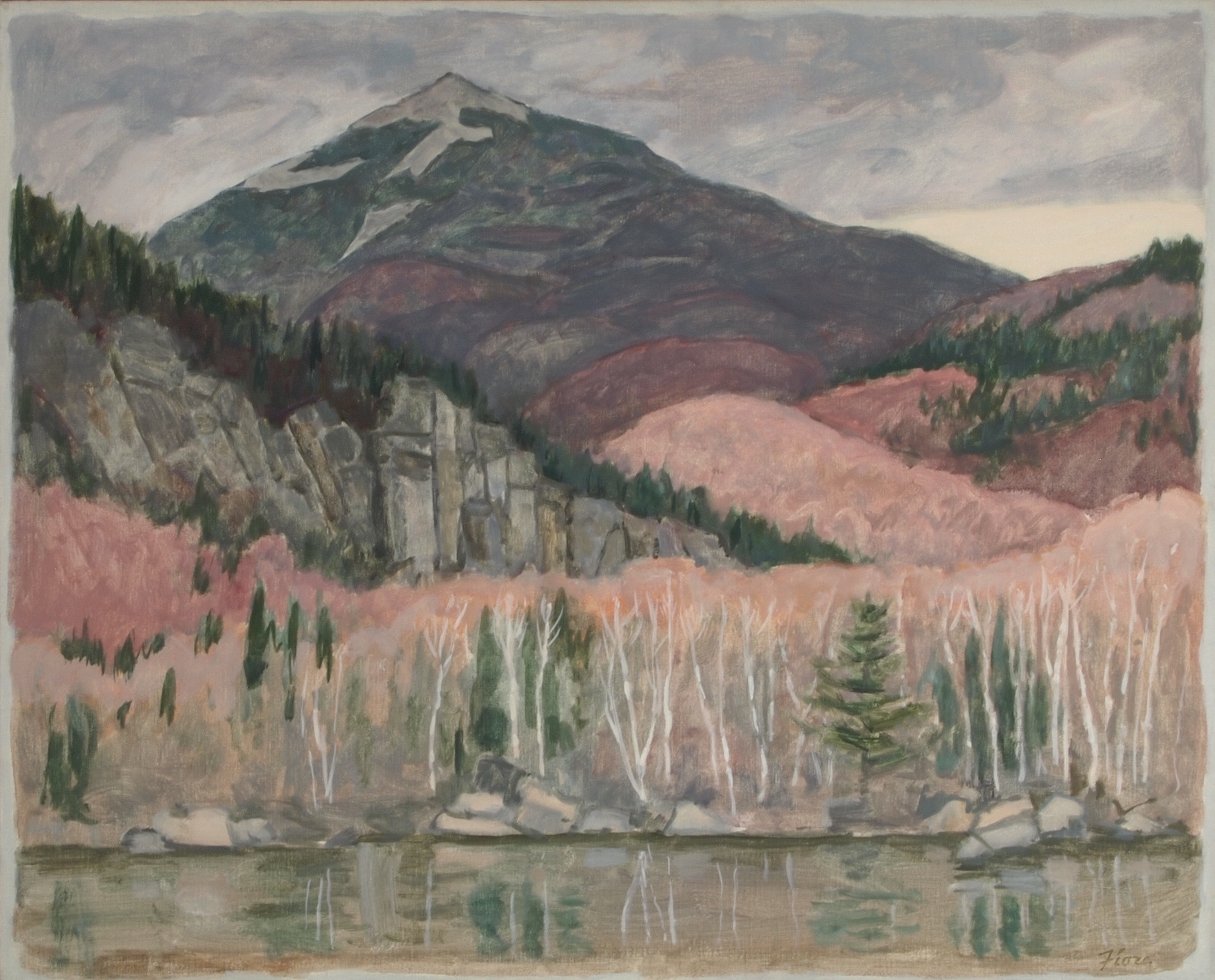 Whiteface, from Copperas Pond