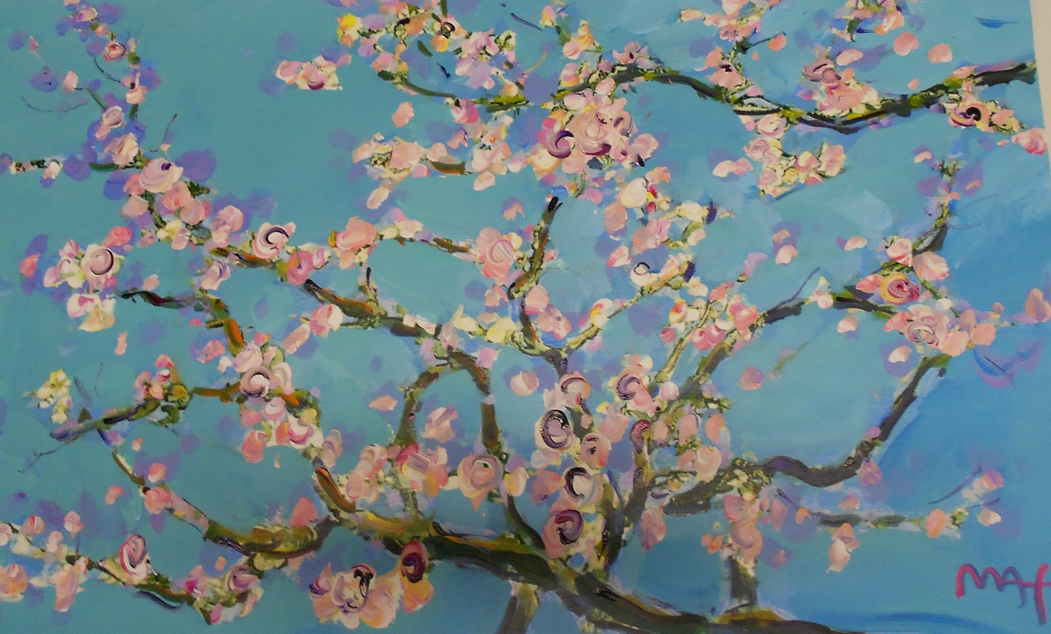 HOMAGE TO VAN GOGH:ALMOND BLOSSOM