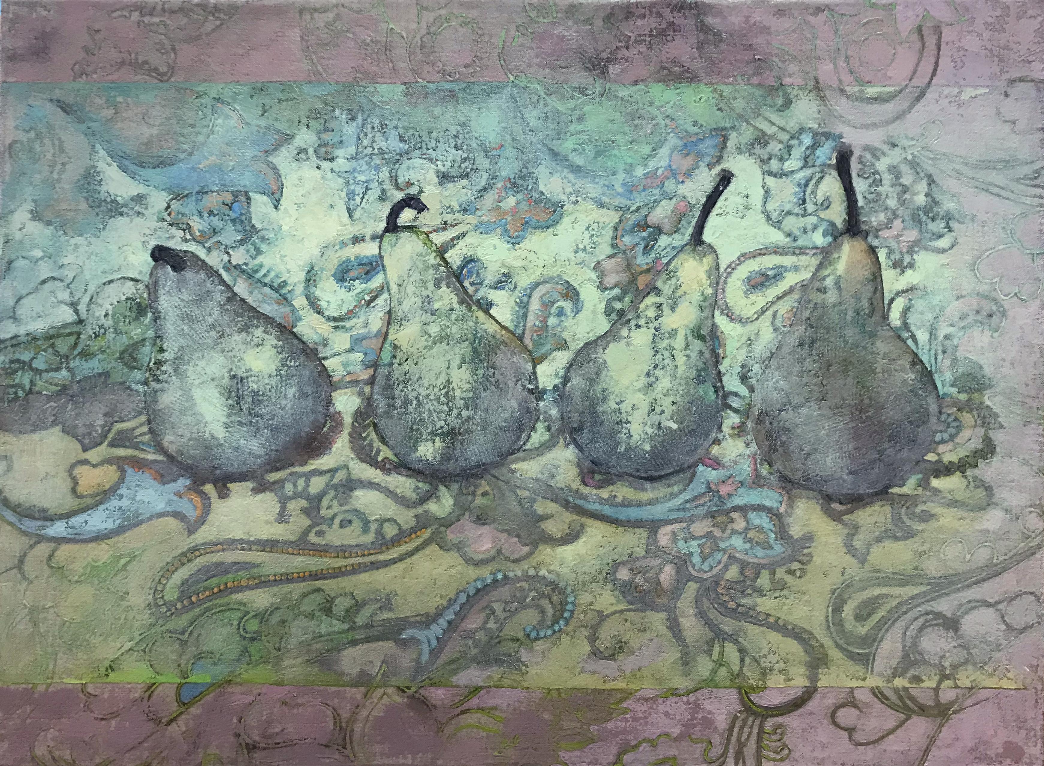 Pears on Paisley