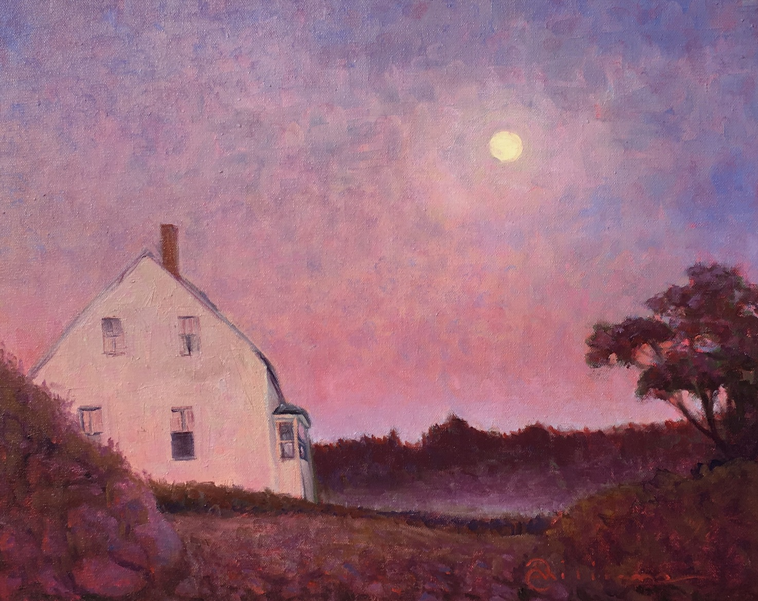 Vaughn House at Dawn