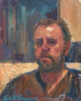 Self portrait by Kevin McNamara