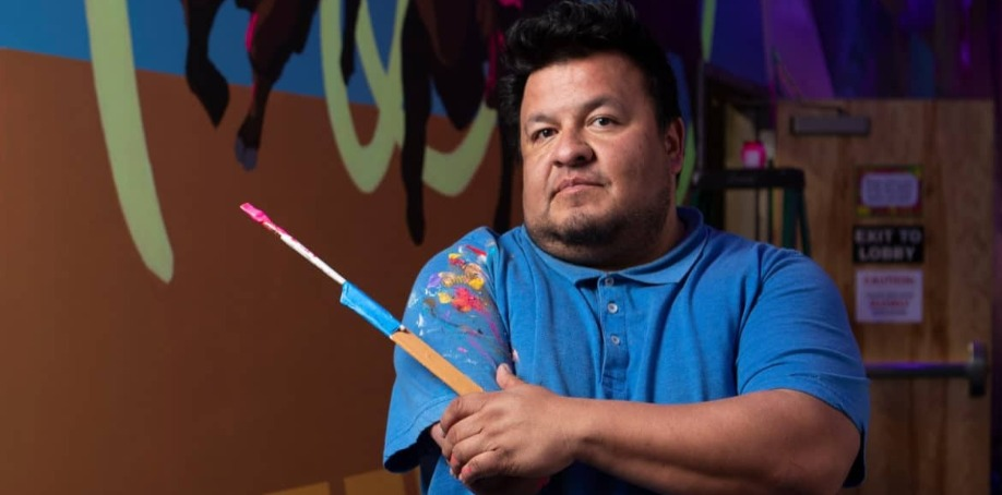 Artist Frank Buffalo Hyde Reveals A New Mural at Meow Wolf