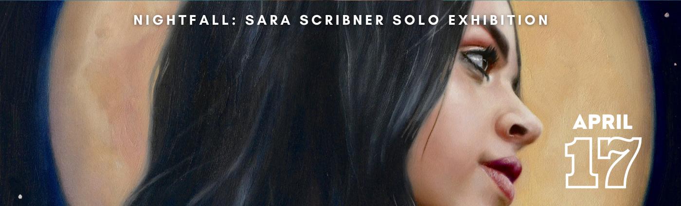 Nightfall: Sara Scribner Solo Exhibition promo image banner