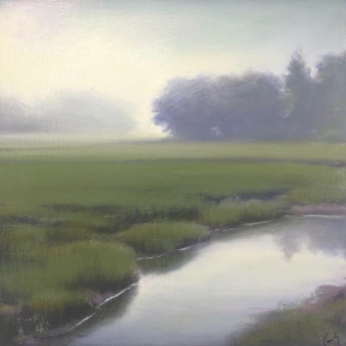 Marsh in Fog IV