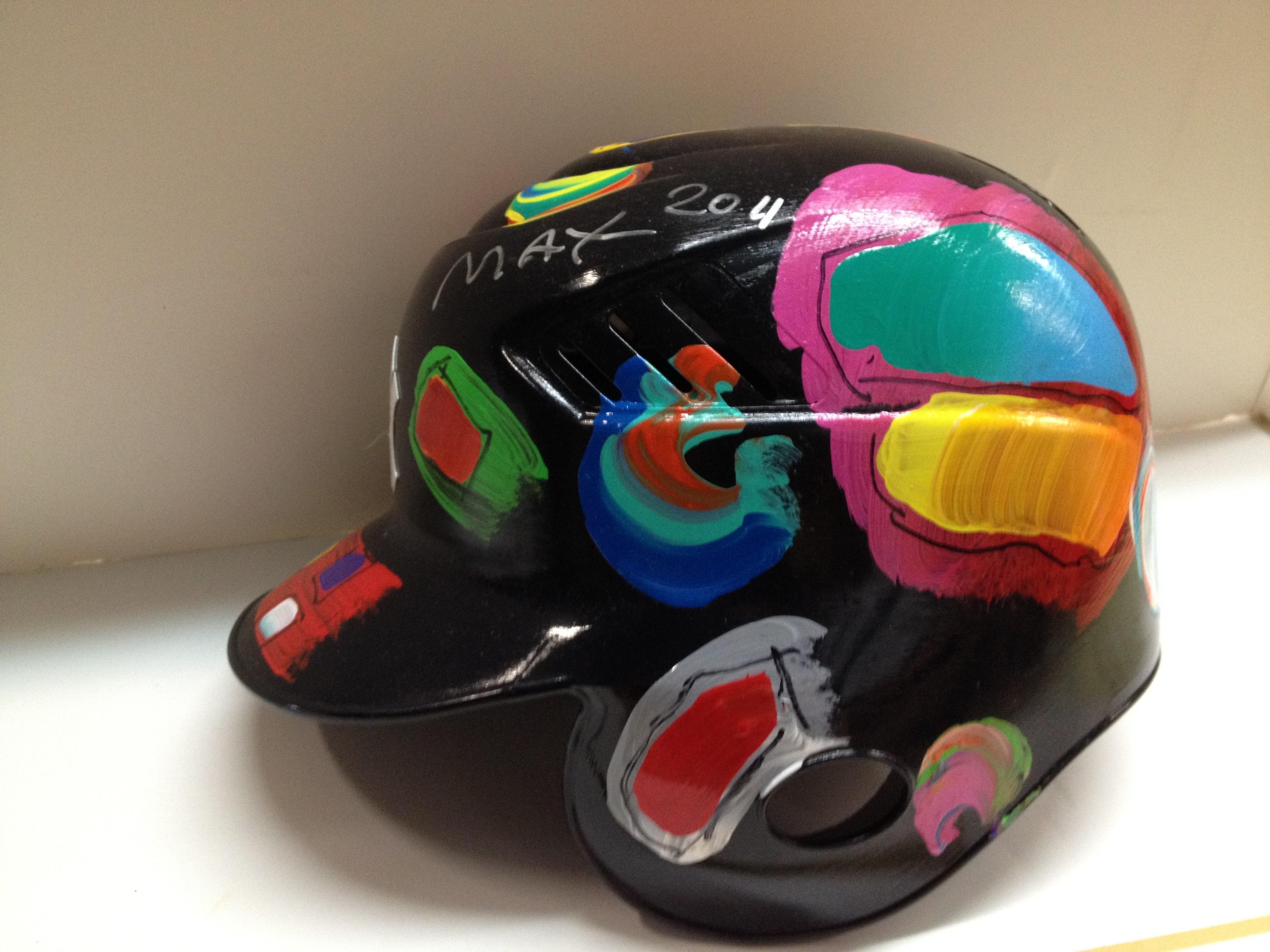 NY-Yankees Baseball Helmet