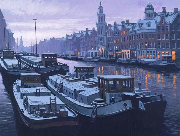 Daybreak - Amsterdam
