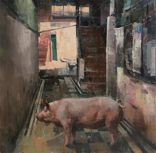 Gallery_Wild_Larry_Moore_Artist_Painting_Bay_Of_Pig