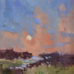 Landscape oil painting by Karen Hewitt Hagan