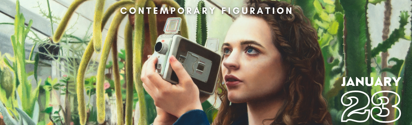 Contemporary Figuration Show Banner