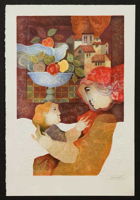 Maternitat, Natura I Pau