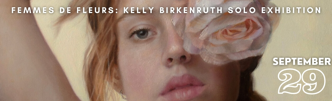 Promo image for Kelly Birkenruth's upcoming solo exhibition