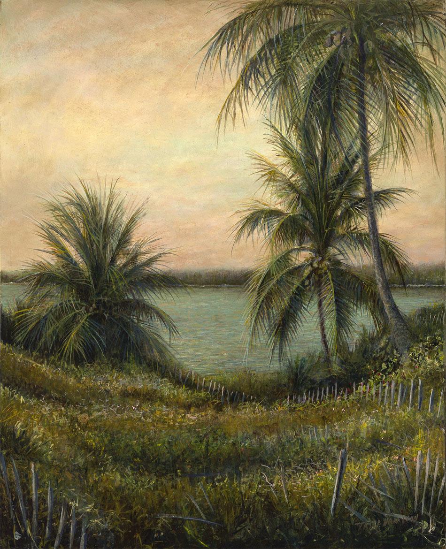 Twilight Palms