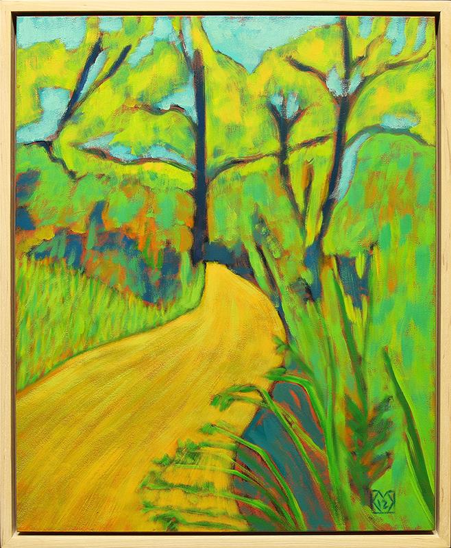 Yellow Path at Flat Rock