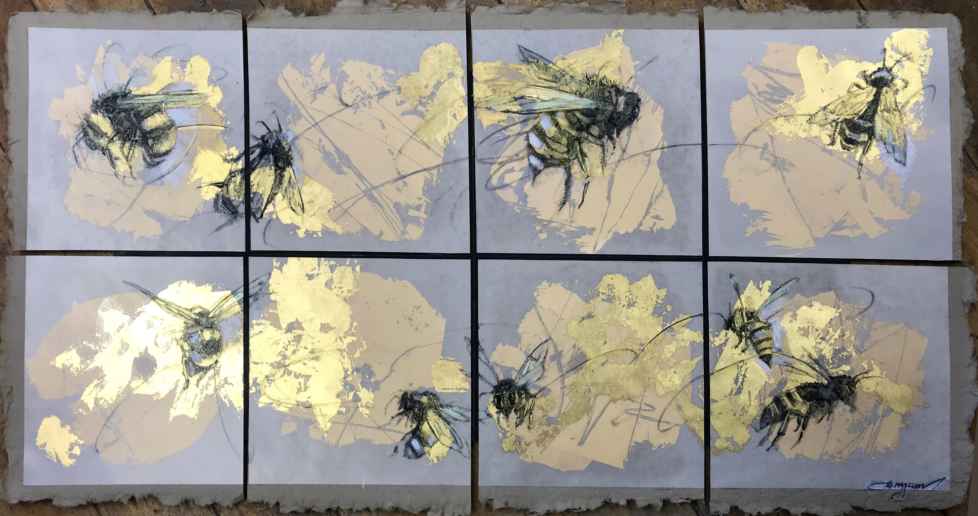 Gilded Bees