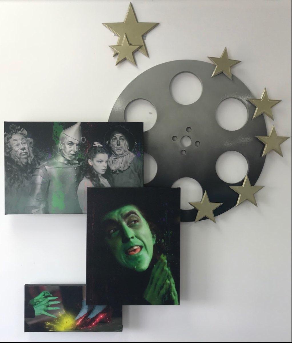 Installation: The Wizard of Oz Movie Reel