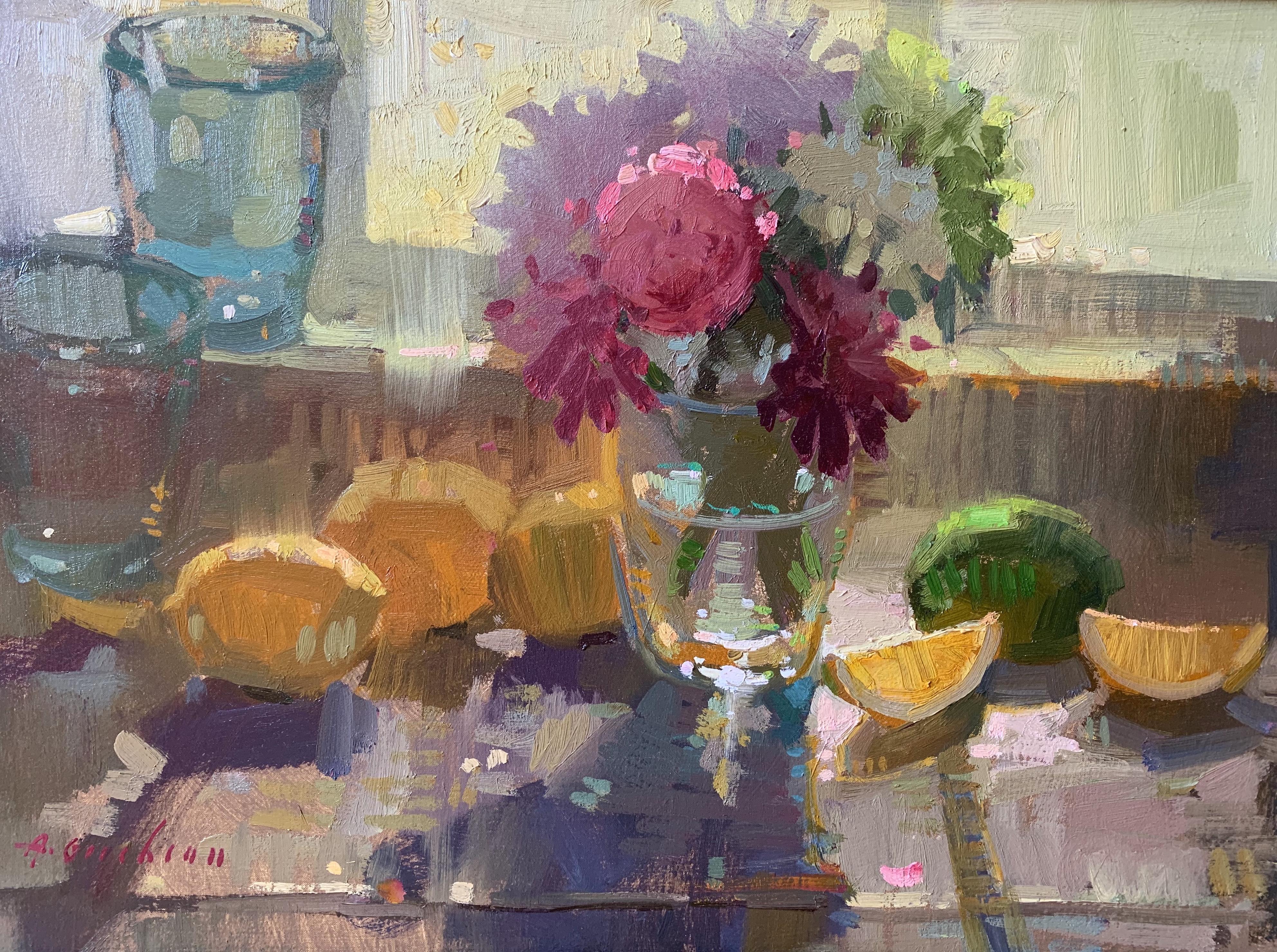Kitchen Window, Lemons