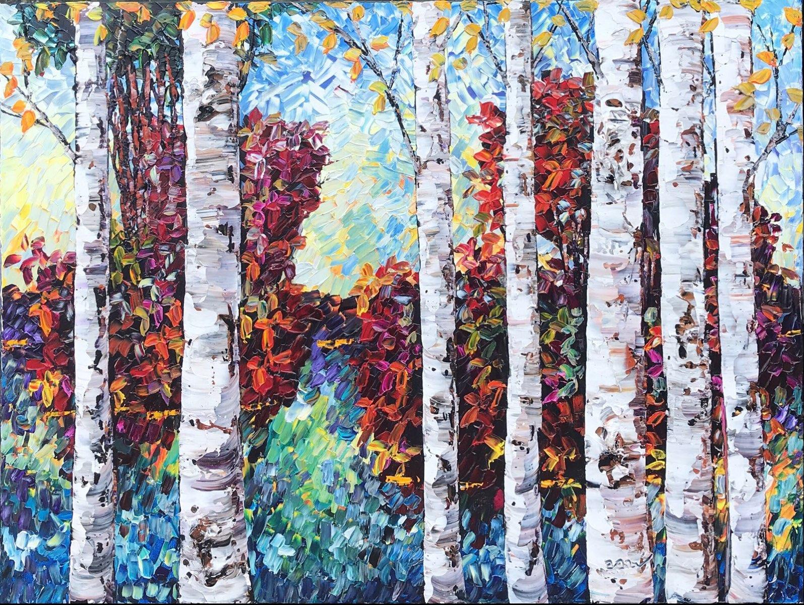 7 Birches