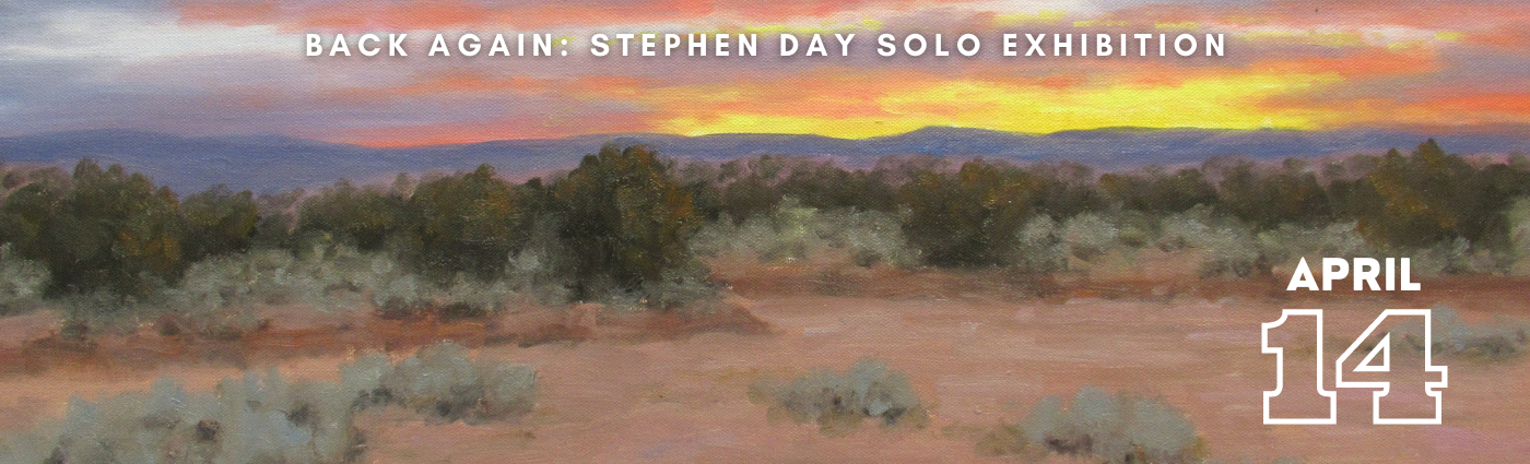Back Again: Stephen Day Solo Exhibition