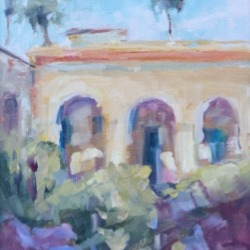 Landscape oil painting by Karen Hewitt Hagan