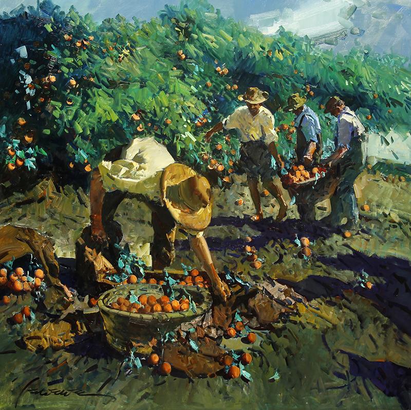 Naranjos de Valencia (Valencian Oranges)