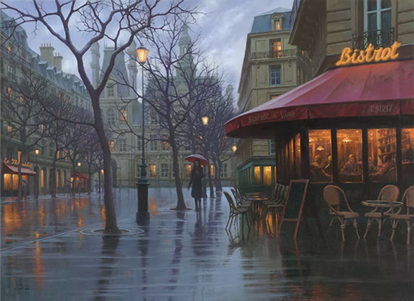 Rainy Days Paris