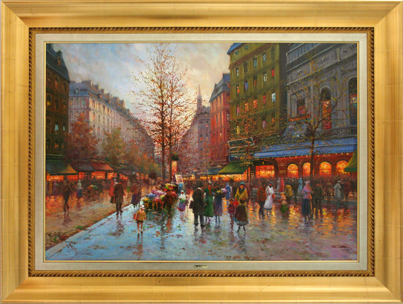[SOLD] Streets of Paris