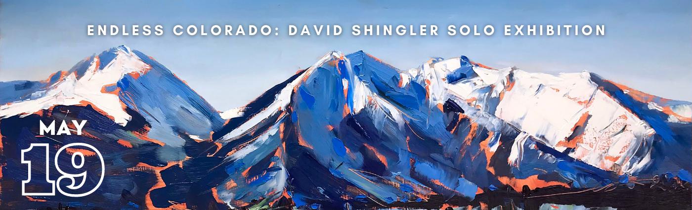 Endless Colorado: David Shingler Solo Exhibition promo banner