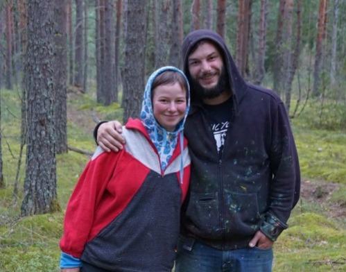 Antonin Passemard and Anastasia Dukhanina