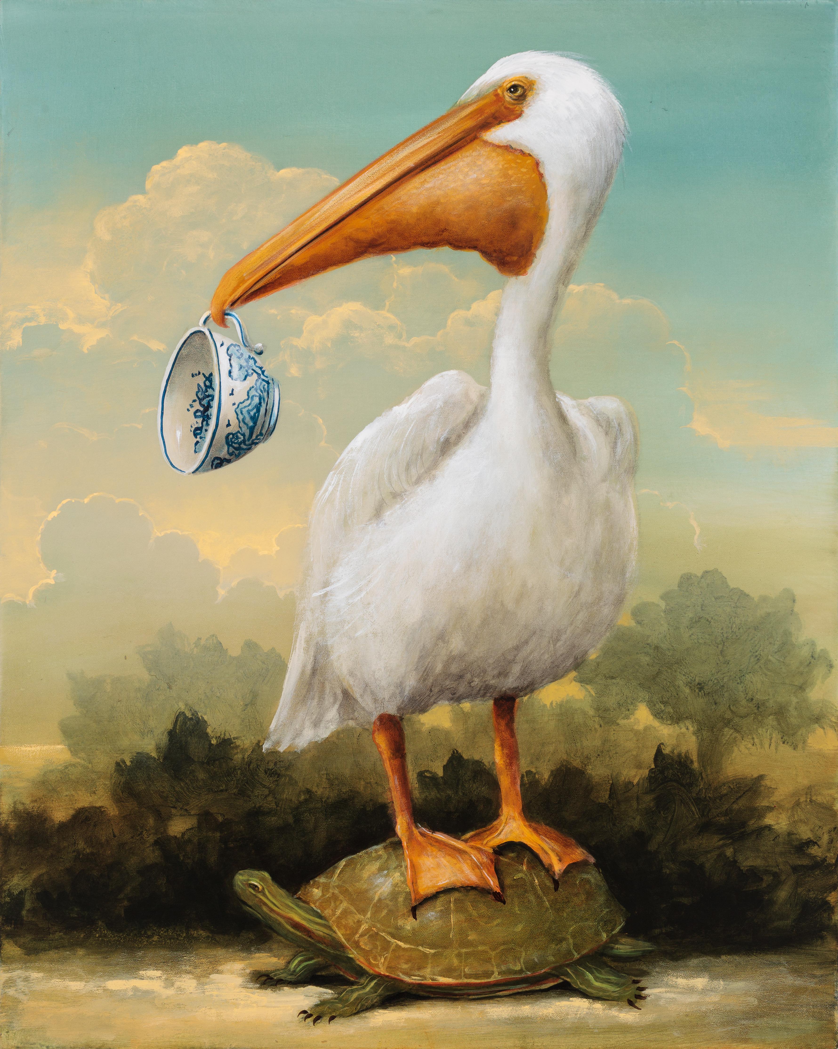 Пеликан с деньгами в клюве картинки общем-то, любая