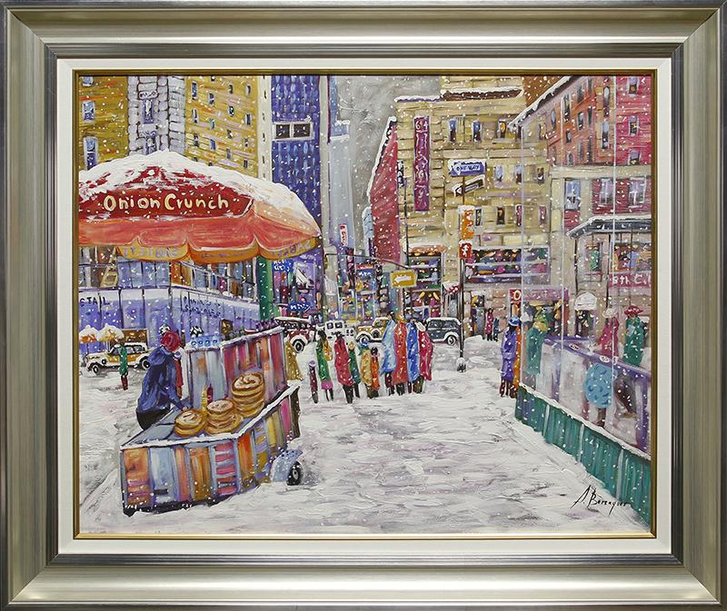 New York Street Vendors- SA DE275