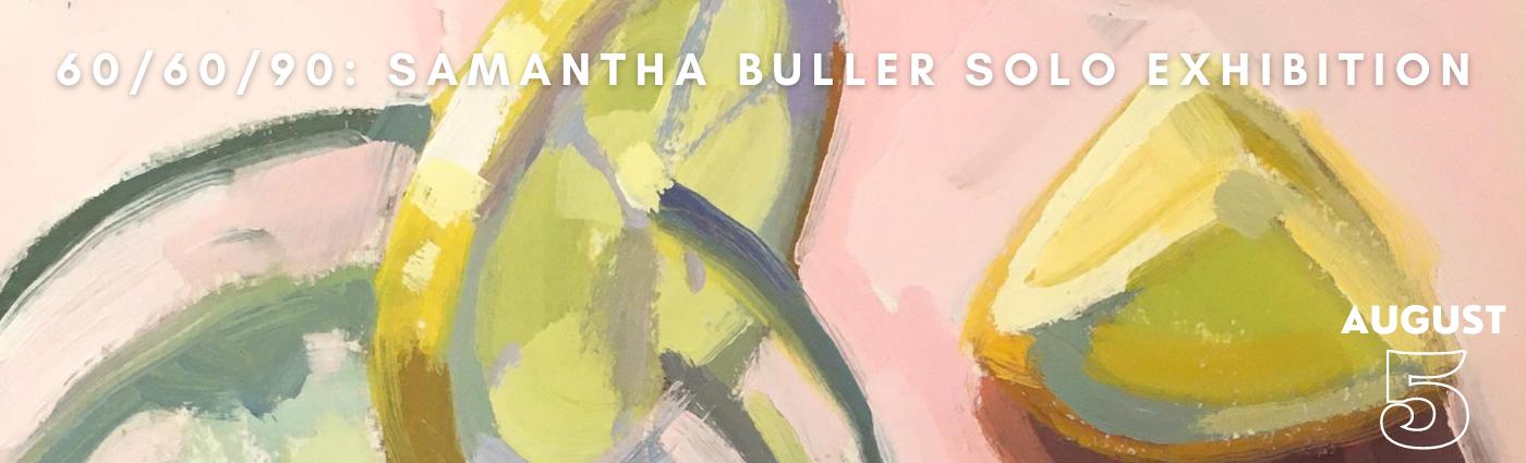 Samantha Buller Promo banner