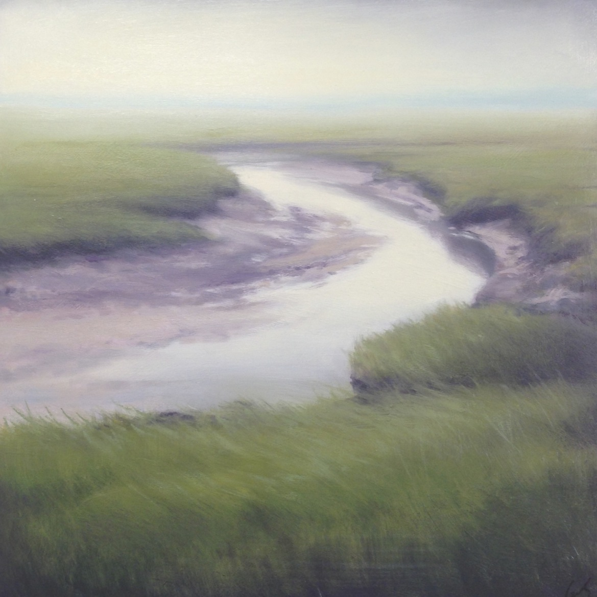 Marsh in Fog III