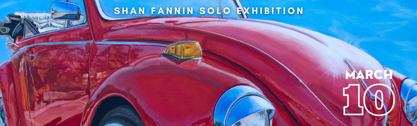 Shan Fannin Solo Exhibition banner image