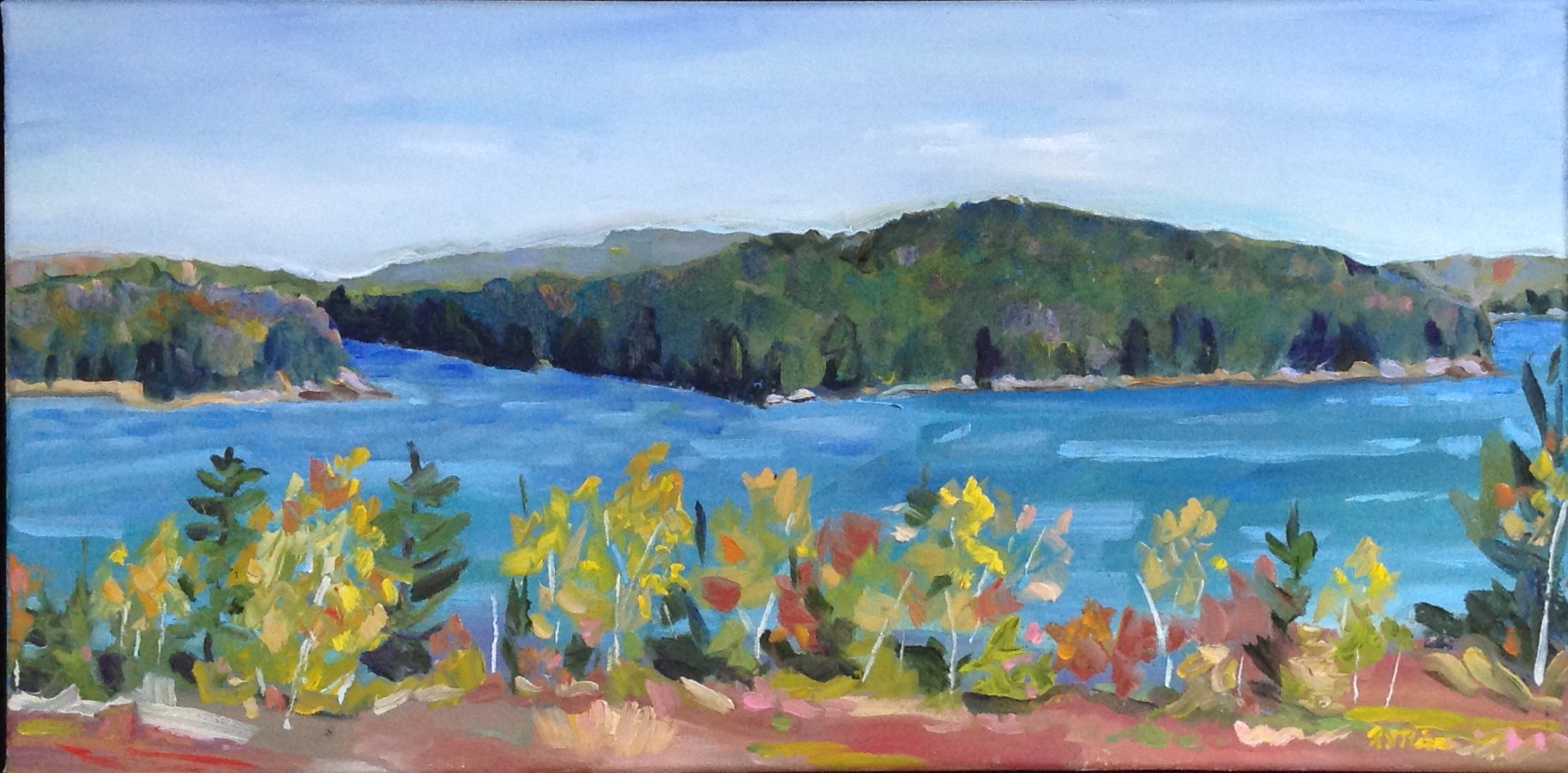 The Bay, Autumn, Barrens